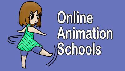 online animation courses and schools