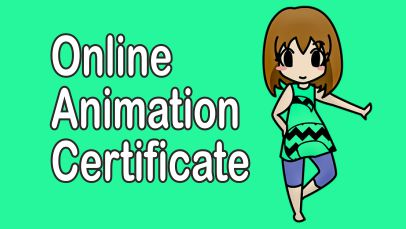 online animation courses, certificates
